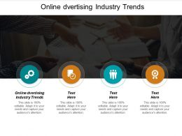 Online Dvertising Industry Trends Ppt Powerpoint Presentation Visuals Cpb