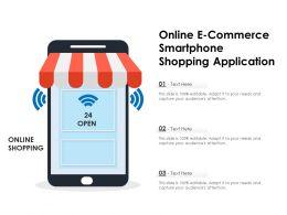 Online E Commerce Smartphone Shopping Application