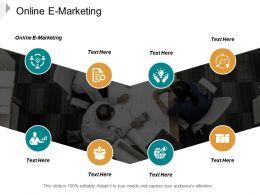Online E Marketing Ppt Powerpoint Presentation Slides Themes Cpb