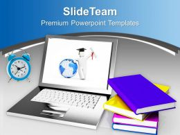 Online Education And Learning Future PowerPoint Templates PPT Themes And Graphics 0213