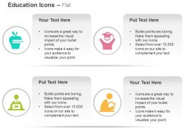 Online Education Graduate Help Desk Reading Ppt Icons Graphics