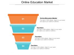 Online Education Market Ppt Powerpoint Presentation Infographics Objects Cpb