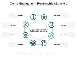 Online Engagement Relationship Marketing Ppt Powerpoint Presentation Infographics Ideas Cpb