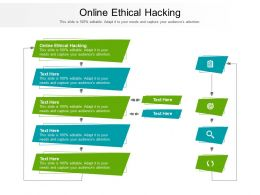 Online Ethical Hacking Ppt Powerpoint Presentation Infographic Template Example Cpb