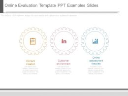 Online Evaluation Template Ppt Examples Slides
