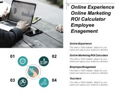 Online Experience Online Marketing Roi Calculator Employee Engagement Cpb