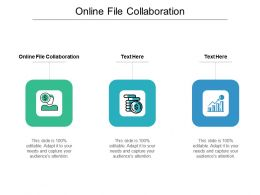 Online File Collaboration Ppt Powerpoint Presentation Gallery Slide Download Cpb