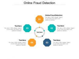 Online Fraud Detection Ppt Powerpoint Presentation Slides Examples Cpb