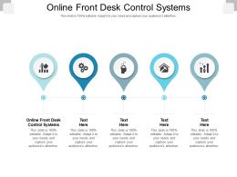 Online Front Desk Control Systems Ppt Powerpoint Presentation Inspiration Vector Cpb