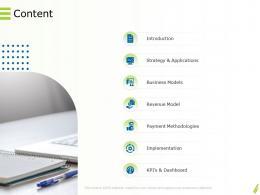 Online Goods Services Content Business Revenue Ppt Powerpoint Presentation File Example File
