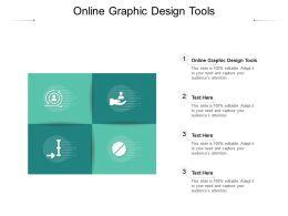 Online Graphic Design Tools Ppt Powerpoint Presentation Outline Master Slide Cpb