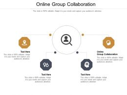 Online Group Collaboration Ppt Powerpoint Presentation Outline Themes Cpb