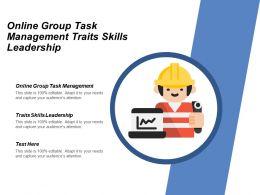 Online Group Task Management Traits Skills Leadership Non Profit Marketing Cpb