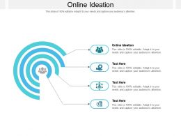 Online Ideation Ppt Powerpoint Presentation Gallery Visual Aids Cpb