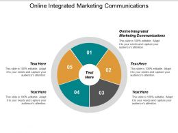 Online Integrated Marketing Communications Ppt Powerpoint Presentation Gallery Show Cpb