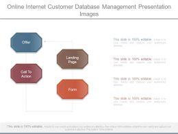 Online Internet Customer Database Management Presentation Images