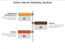 Online Internet Marketing Services Ppt Powerpoint Presentation Slides Visual Aids Cpb