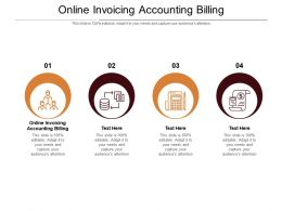 Online Invoicing Accounting Billing Ppt Powerpoint Presentation Outline Grid Cpb