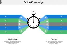 Online Knowledge Ppt Powerpoint Presentation Slides Graphic Images Cpb