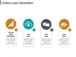 Online Lead Generation Ppt Powerpoint Presentation Gallery Designs Cpb