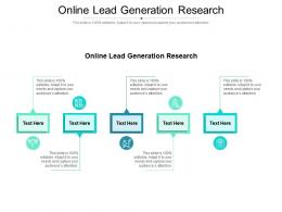 Online Lead Generation Research Ppt Powerpoint Presentation Summary Master Slide Cpb