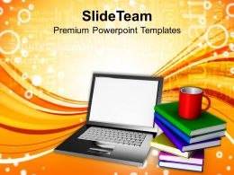 Online Learning Concept Technology Powerpoint Templates Ppt Themes And Graphics