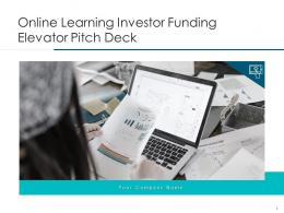 Online Learning Investor Funding Elevator Pitch Deck Ppt Template