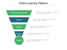 Online Learning Platform Ppt Powerpoint Presentation Example Cpb