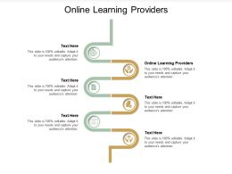 Online Learning Providers Ppt Powerpoint Presentation Icon File Formats Cpb