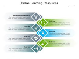 Online Learning Resources Ppt Powerpoint Presentation Summary Background Designs Cpb