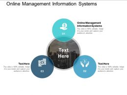 Online Management Information Systems Ppt Powerpoint Presentation Gallery Mockup Cpb