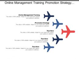 Online Management Training Promotion Strategy Marketing Skills Generate Sales