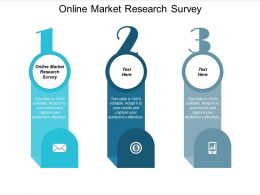 Online Market Research Survey Ppt Powerpoint Presentation Outline Microsoft Cpb