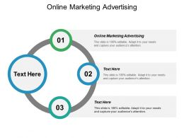 Online Marketing Advertising Ppt Powerpoint Presentation Gallery Structure Cpb