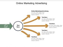 Online Marketing Advertising Ppt Powerpoint Presentation Sample Cpb