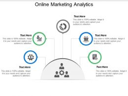 Online Marketing Analytics Ppt Powerpoint Presentation File Example File Cpb