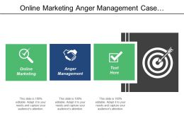 Online Marketing Anger Management Case Management Inbound Marketing Cpb