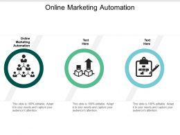 Online Marketing Automation Ppt Powerpoint Presentation Layouts Graphics Tutorials Cpb