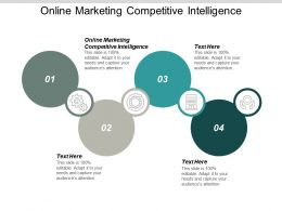 Online Marketing Competitive Intelligence Ppt Powerpoint Presentation Gallery Background Image Cpb