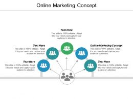Online Marketing Concept Ppt Powerpoint Presentation Infographic Template Gallery Cpb