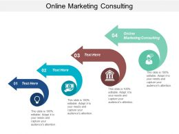 Online Marketing Consulting Ppt Powerpoint Presentation Ideas Clipart Images Cpb
