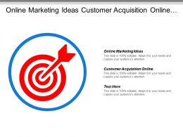 Online Marketing Ideas Customer Acquisition Online Professional Leadership Skills