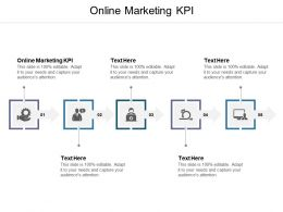 Online Marketing KPI Ppt Powerpoint Presentation File Themes Cpb