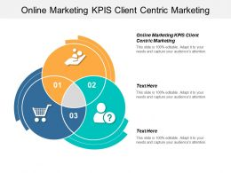 Online Marketing KPIS Client Centric Marketing Ppt Powerpoint Presentation Infographic Template File Formats Cpb