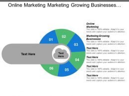 Online Marketing Marketing Growing Businesses Creative Marketing Strategy