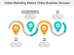 Online Marketing Metrics Online Business Success Ppt Powerpoint Presentation File Background Images Cpb