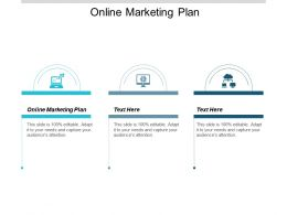 Online Marketing Plan Ppt Powerpoint Presentation Pictures Objects Cpb