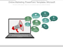 Online Marketing Powerpoint Templates Microsoft