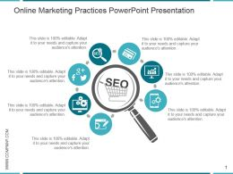 Online Marketing Practices Powerpoint Presentation