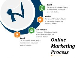 Online Marketing Process Powerpoint Slide Design Ideas